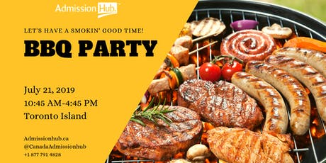 BBQ PARTY with Admission Hub  tickets