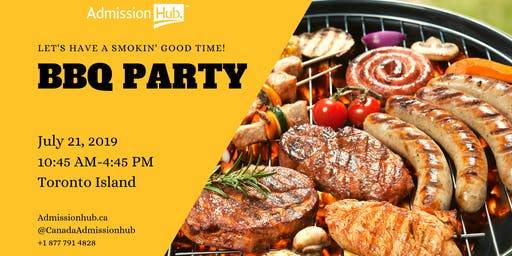 BBQ PARTY with Admission Hub