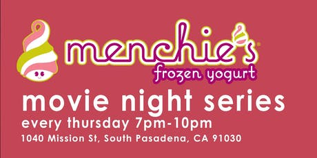 Menchie's Movie Night tickets
