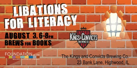 Libations for Literacy - Brews for Books tickets