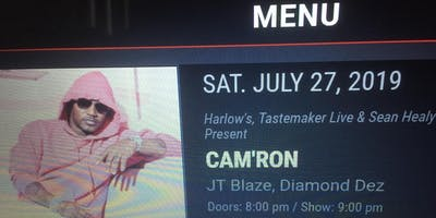 Cam'Ron aka Killa Cam LIVE! (with guests JT-Blaze & Diamond Dez)