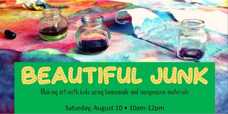 Beautiful Junk: Making Art with Kids tickets