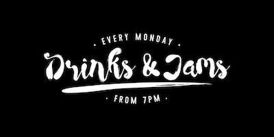 Drinks & Jams 22nd July ft: ST Manville