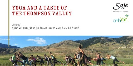 Yoga and a Taste of the Thompson Valley tickets