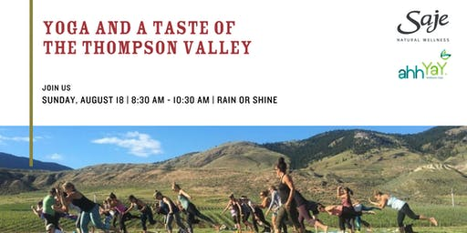Yoga and a Taste of the Thompson Valley