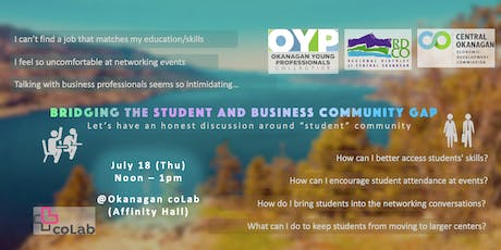Bridging the Student and Business Community Gap tickets