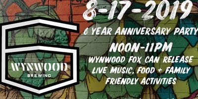 Wynwood Brewing Company's 6 Year Anniversary Party