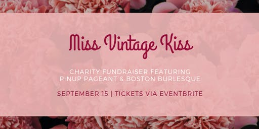Miss Vintage Kiss - Liptember Pinup Fundraiser