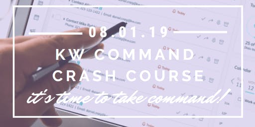 KW Command Crash Course w/ Bret Shugrue