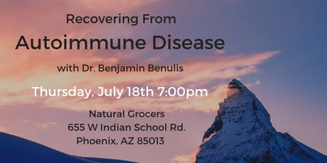 Recovering from Autoimmune Disease tickets
