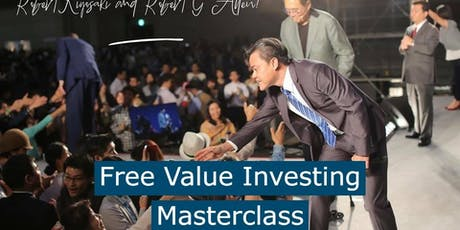 Free Value Investing Seminar with Cayden Chang (10 or 25 July, 2019) tickets