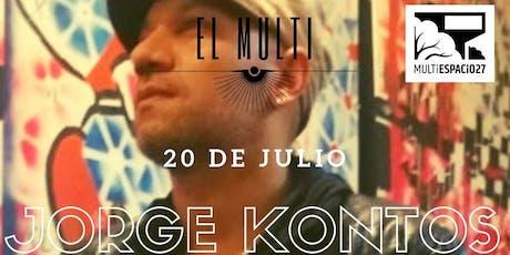 Jorge Kontos en El Multi. entradas