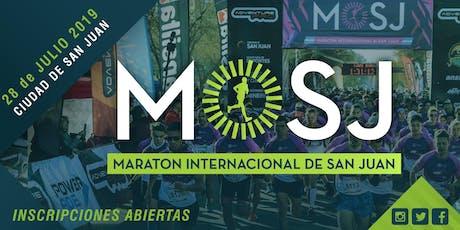 Maratón Internacional de San Juan 2019 entradas