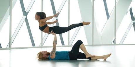 Acro Yoga with Sylvia Garcia & Joey Adams tickets