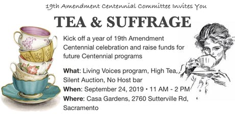 Tea & Suffrage tickets