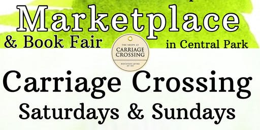 Marketplace & Book Fair at Carriage Crossing