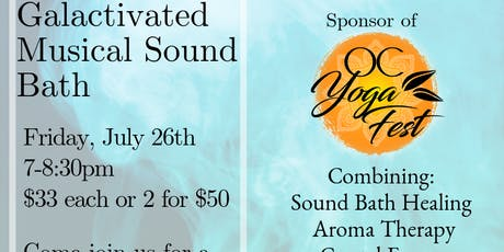 Galactivated  Musical Sound Bath tickets
