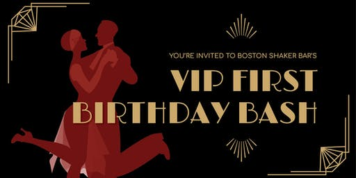 Boston Shaker Bar's VIP First Birthday Bash