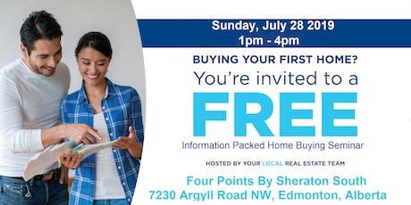 First Time Home Buyer Information Seminar - Edmonton  tickets