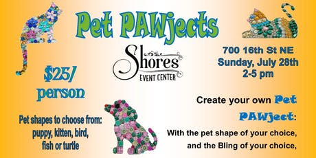 Pet PAWject tickets