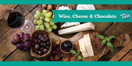 Wine, Cheese, & Chocolate tickets