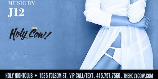 FINE FRIDAYS LINGERIE EDITION AT THE HOLY COW