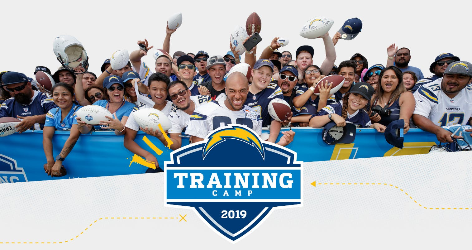 2019 Los Angeles Chargers Training Camp with SAA!
