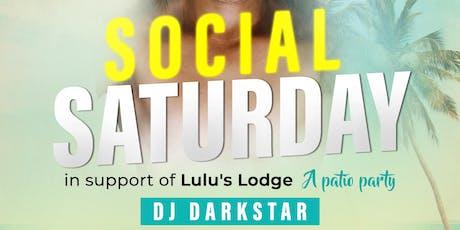 Social Saturday tickets