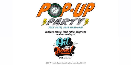 Garage Co. Pop Up Party!
