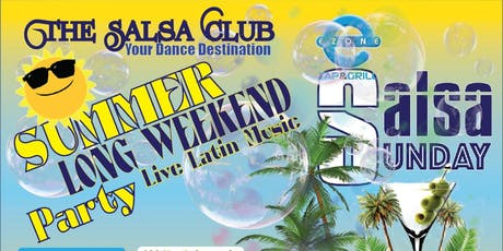 Long Weekend Summer Party! Live Latin Music by Grupo Rey tickets