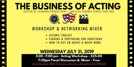 The Business of Acting!!!	   Workshop & Panel Discussion tickets