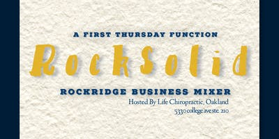 RockSolid: Monthly Business Mixer November