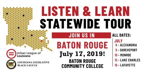 Listen and Learn Baton Rouge tickets