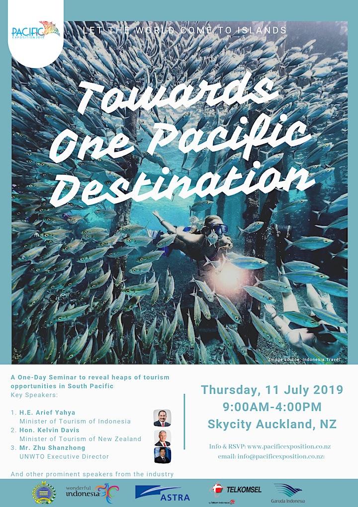 Tourism Forum - Pacific Exposition 2019 image
