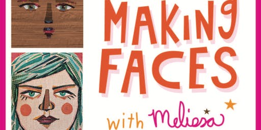 Pgh Modern Quilt Guild  Fall Workshop - Making Faces with Melissa Averinos
