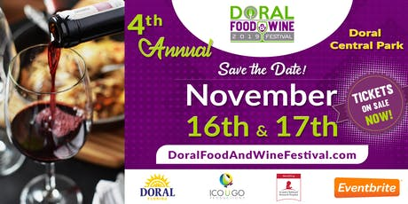 Doral Food and Wine Festival 2019  tickets