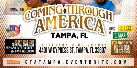 Coming Through America Tampa FL tickets