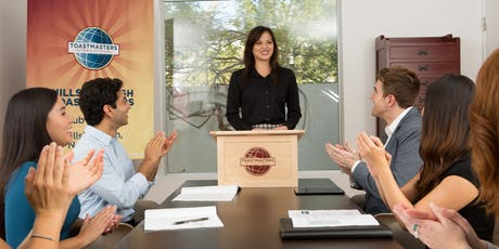 Oratory Authority Toastmasters Club Public Speaking Meeting tickets