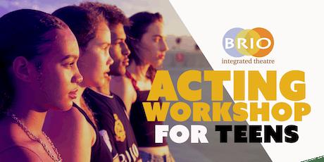 Summer Acting Improv Workshop for Teens tickets