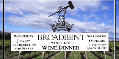 Broadbent Wine Dinner