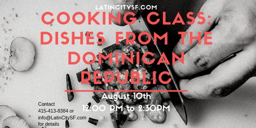 Cooking Class: Dishes from The Dominican Republic