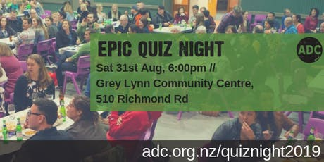 Epic Quiz Night for a good cause! tickets