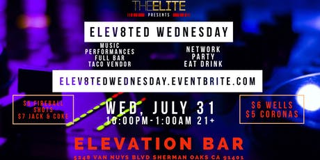 Elev8ted Wednesday  tickets