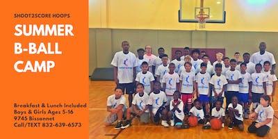 Shoot2Score Summer Basketball Camp 19'