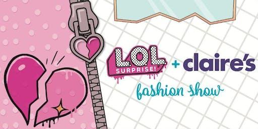 L.O.L. Surprise!  IRL Fashion Show