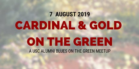 Cardinal and Gold on the Green (A Blues on the Green Meetup) - August 7th - FREE! tickets