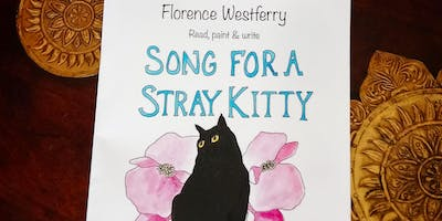 """BOOK LAUNCH & AUTHOR READING of the hilarious new """"Song For A Stray Kitty""""."""