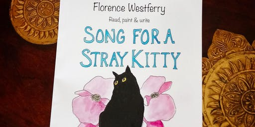 "CHILDREN'S BOOK LAUNCH & READING of hilarious new ""Song For A Stray Kitty""."
