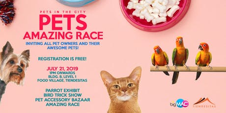 Pets Amazing Race tickets