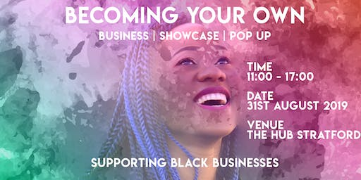 BECOMING YOUR OWN SHOWCASE POP UP